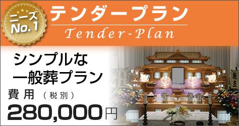 テンダープラン/シンプルな一般葬プラン