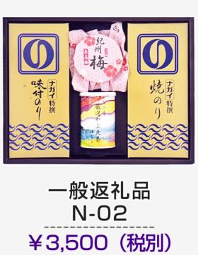 一般返礼品 N-02